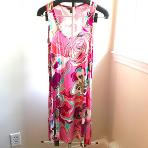 Tommy Bahama flowered dress, size small